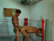 Sexo no ringue de boxe