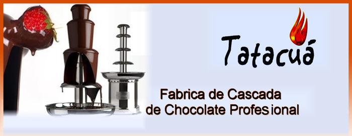 fabrica de cascada de chocolate