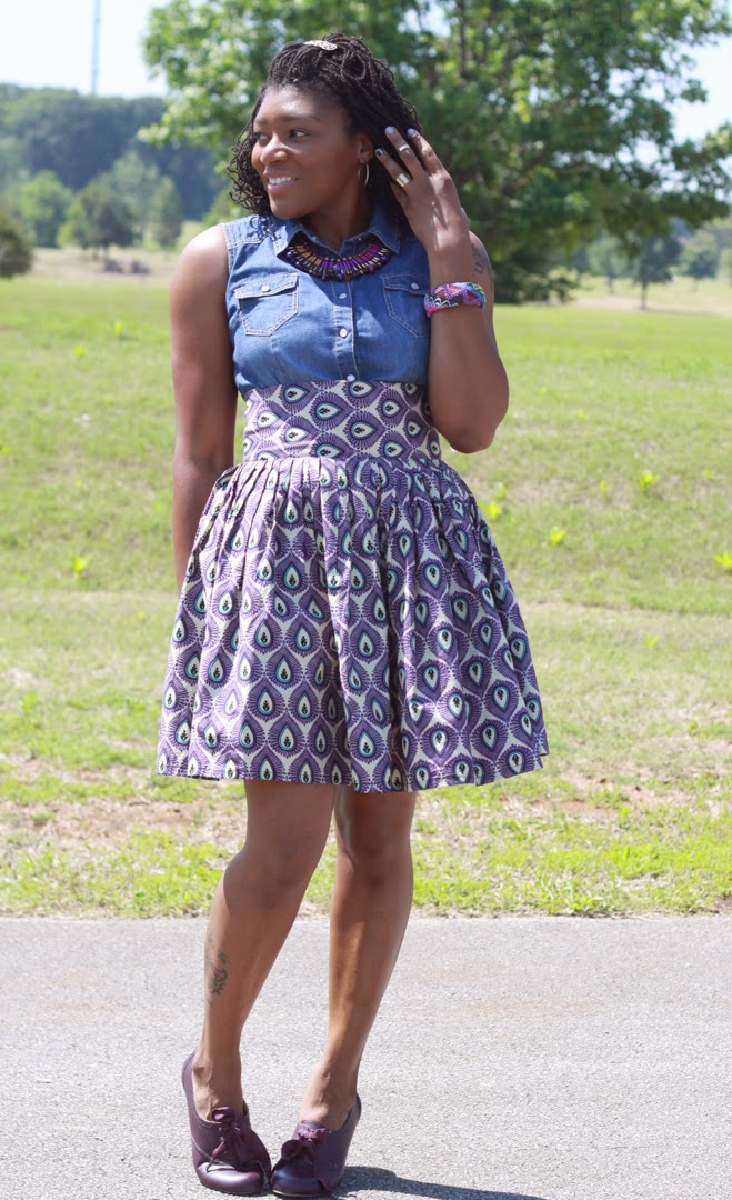 how to style african print