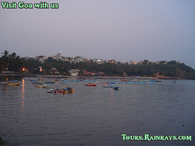 Best Dona Paula Beach, Goa India. Incredible Real India Tours & Travels