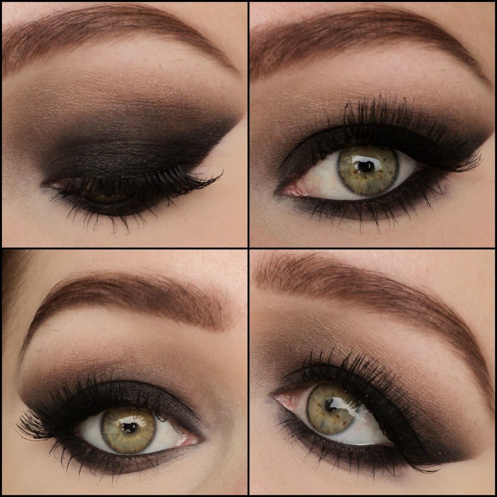 Как сделать макияж в домашних условиях фото пошагово для зеленых глаз смоки