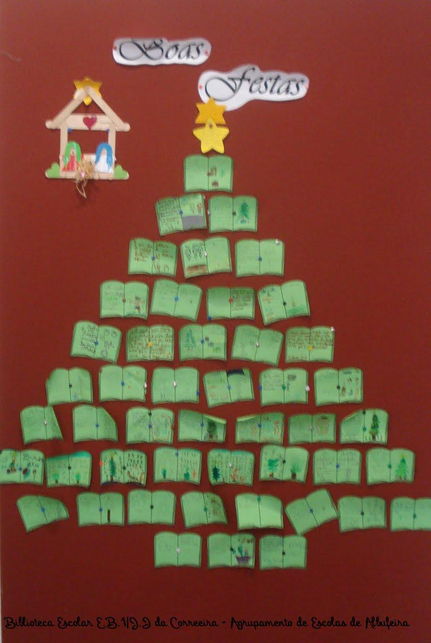 Espa o educar sugest o para mural de natal a partir de for Mural sobre o natal
