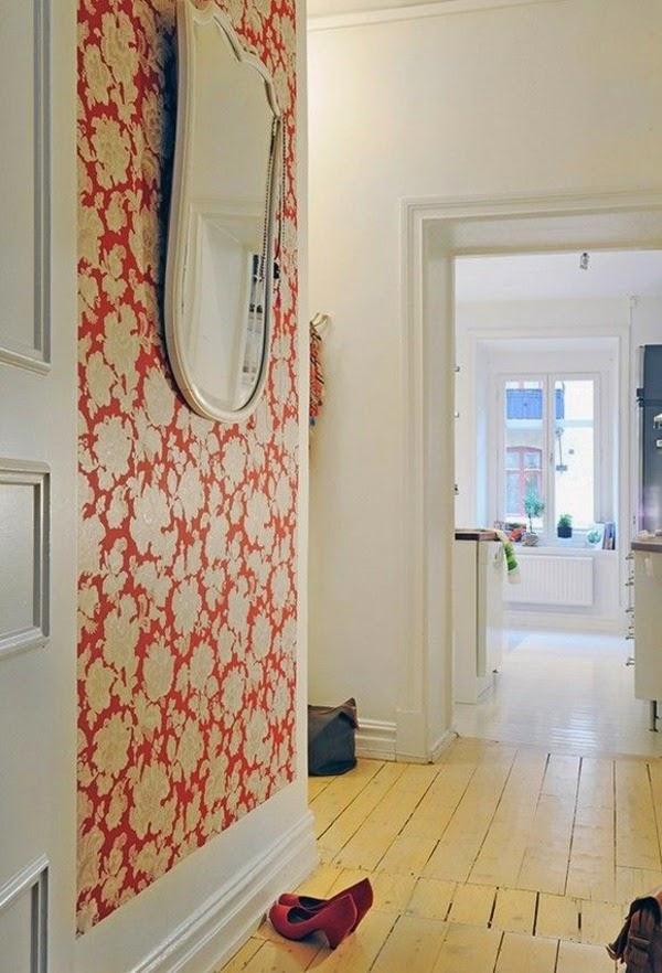 Papier peint 4 murs couloir - Tendance papier peint couloir ...