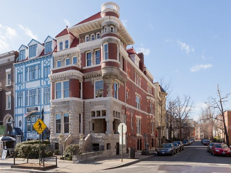 dc richardson romanesque victorian near dupont circle built c 1890