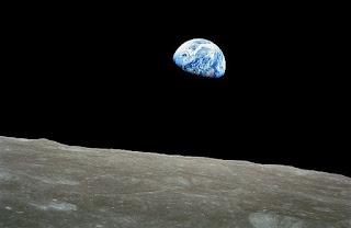 Fotografia do Planeta Terra na Lua - NASA