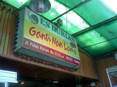 "Minang Rancak – Es Durian ""Ganti Nan Lamo"""