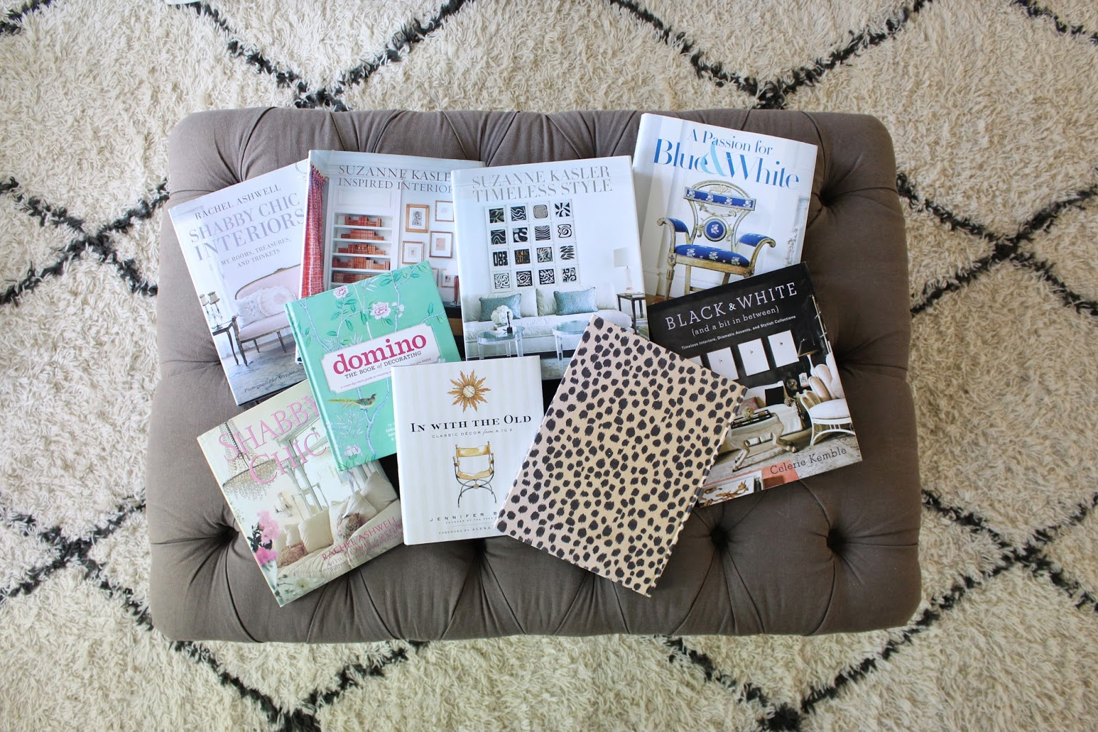 tiffanyd: my top home decor books