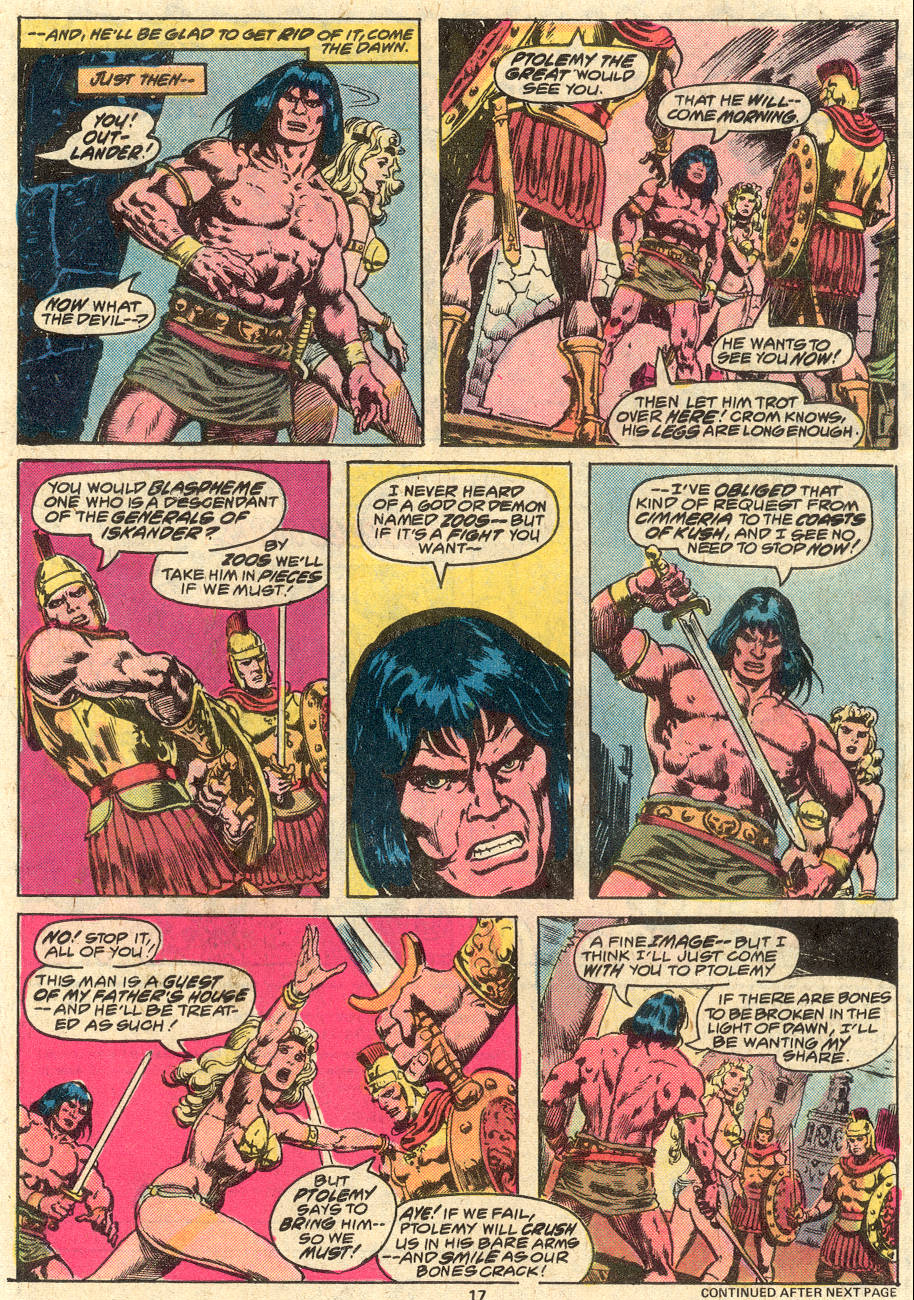 Conan the Barbarian (1970) Issue #80 #92 - English 12