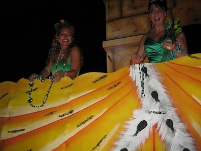 Irish Honeys:  Downtown Irish Club Parade, St Patrick's Day 2012, NOLA