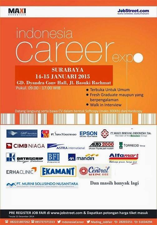 INDONESIA CAREER EXPO SURABAYA 2015