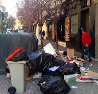Galas navideñas en Madrid