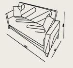 kilim panama kanepe ölçüleri