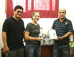 Presidente del GOREL y el Director Ejecutivo Regional del PRMRFFS