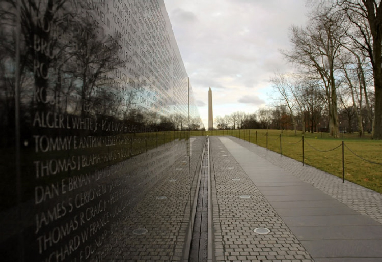 maya lins extremely unique and controversial design for the vietnam memorial Maya lin was practically a kid when her design was selected to become the vietnam veterans memorial on the national mall in washington, dc and her design was nearly as controversial as the war it commemorated.