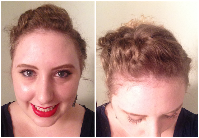 Manicurity   Pantene: Want That Hair - Holiday Hair + The Big Reveal! (and tutorial)