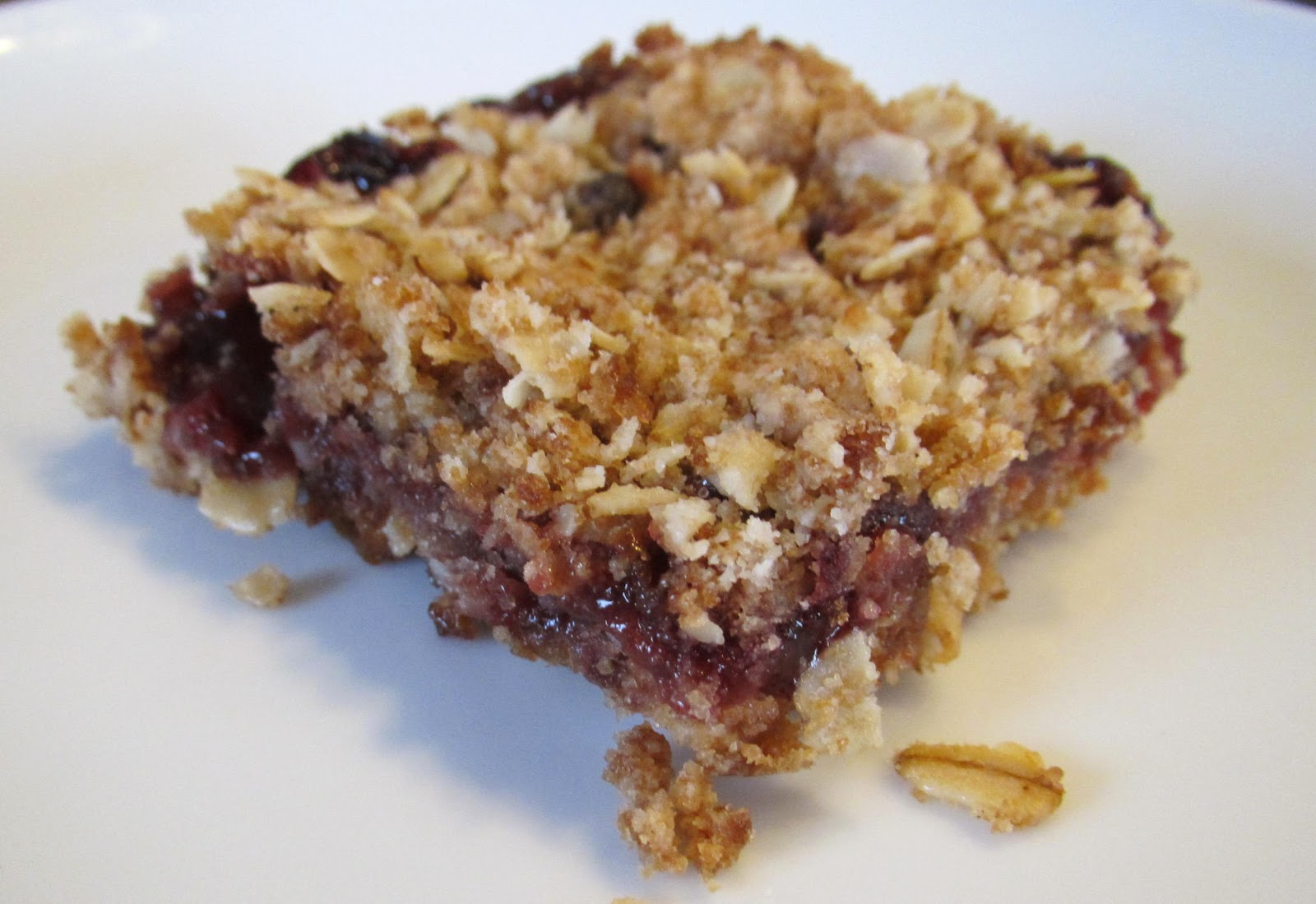 Successfully Gluten Free! : Oatmeal Berry Jam Bars
