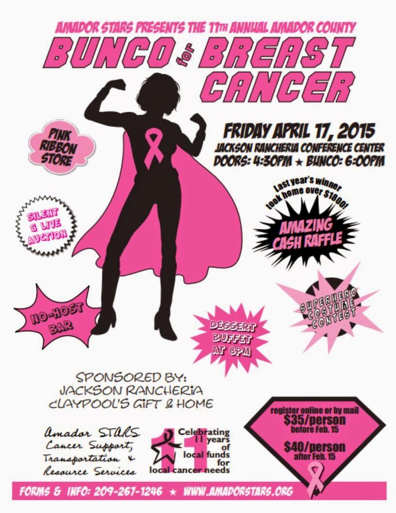 Bunco for Breast Cancer - Fri Apr 17