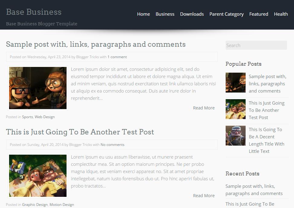 5 Template Blogspot yang Keren dan Minimalis