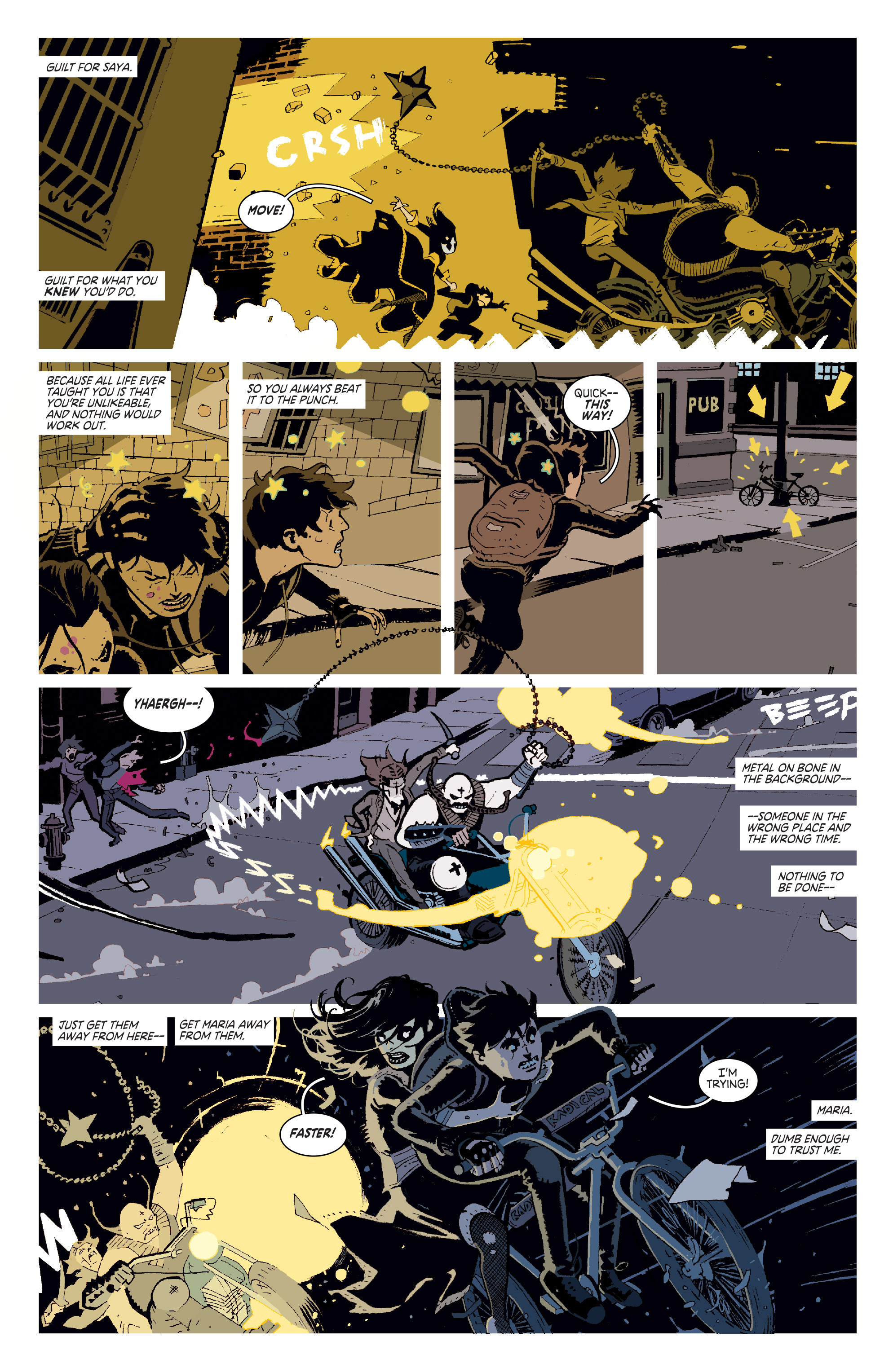Read online Deadly Class comic -  Issue # _TPB 3 - 14