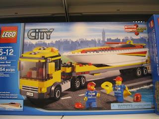 LEGO Power Boat Transporter