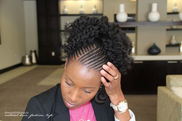 Protective Braid Styles For Transitioning Hair Caught Between A Cream And Curl Styling Ideas For Transitioning .
