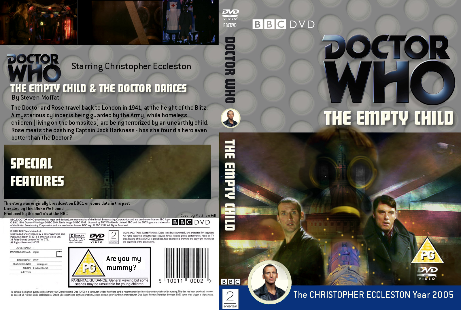 my doctor who dvd covers