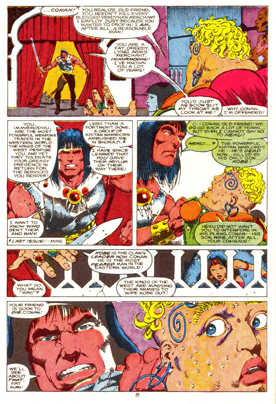 Conan the Barbarian (1970) Issue #207 #219 - English 7