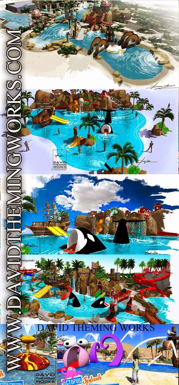 Tematizaci n de piscinas y fabricaci n de toboganes for Fabricacion de piscinas