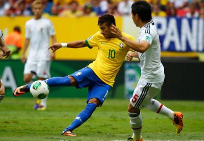 gol de Neymar Copa das Confederações Brasil 2013