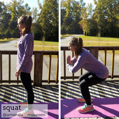 Fitness, HIIT, Sweat Pink, Workout Wednesday, squat