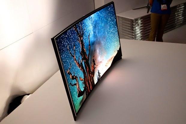 Samsung UN65H8000 65inch curved screen tv