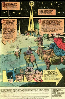 Three Wise Men and the Star of Bethlehem from DC Super Star Holiday Special