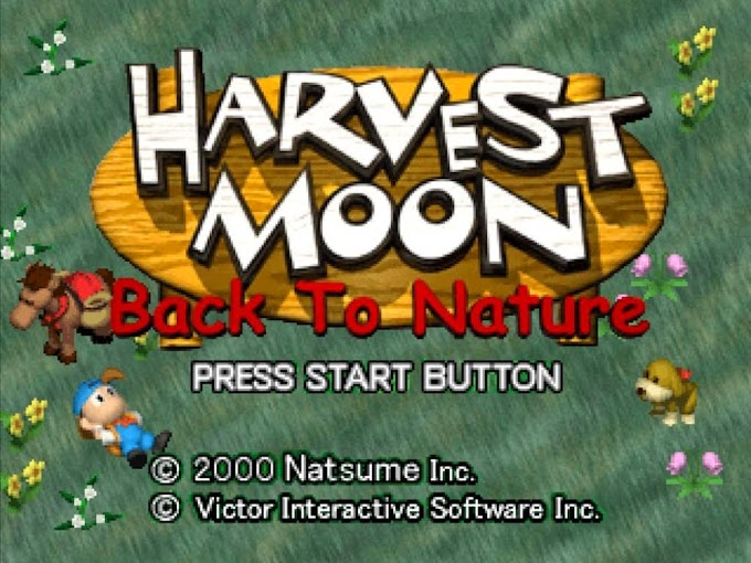 Review game: Harvest Moon Back To Nature (PS 1)