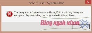 cara mengatasi D3dx9_30.dll is missing