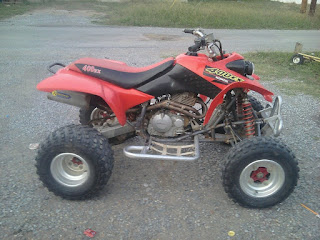 Honda ATV, Honda 400 ex, Tufted Titmouse, farm life, baby birds, small bird eggs