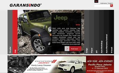 peluncuran website garansindo