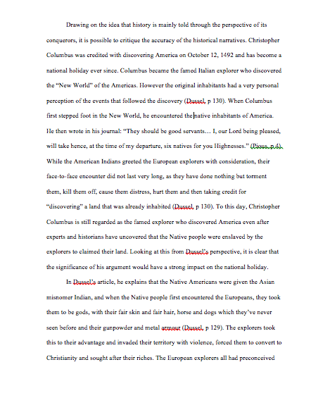 Essay when did columbus discover america