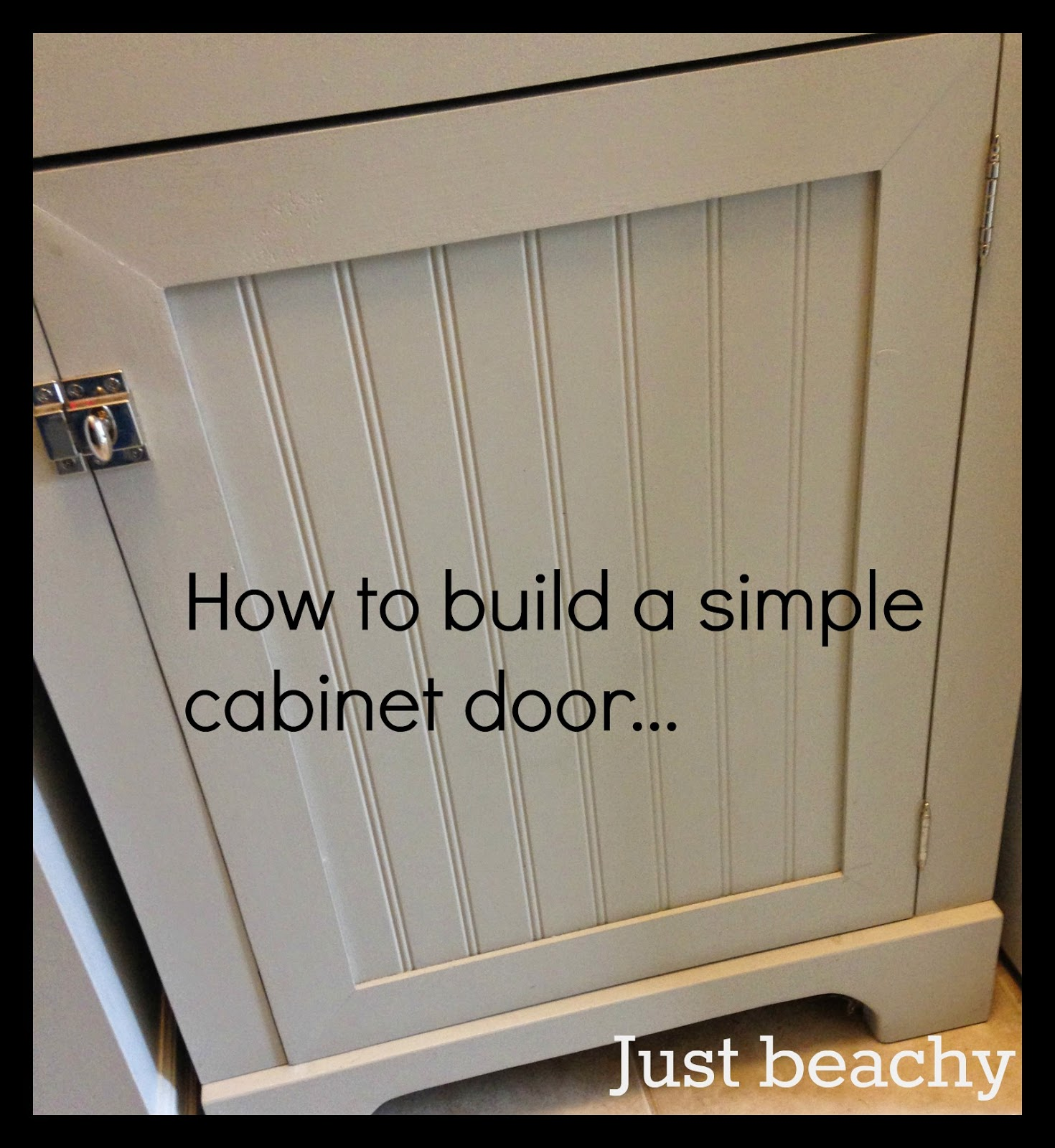 White Wood : DIY shaker doors