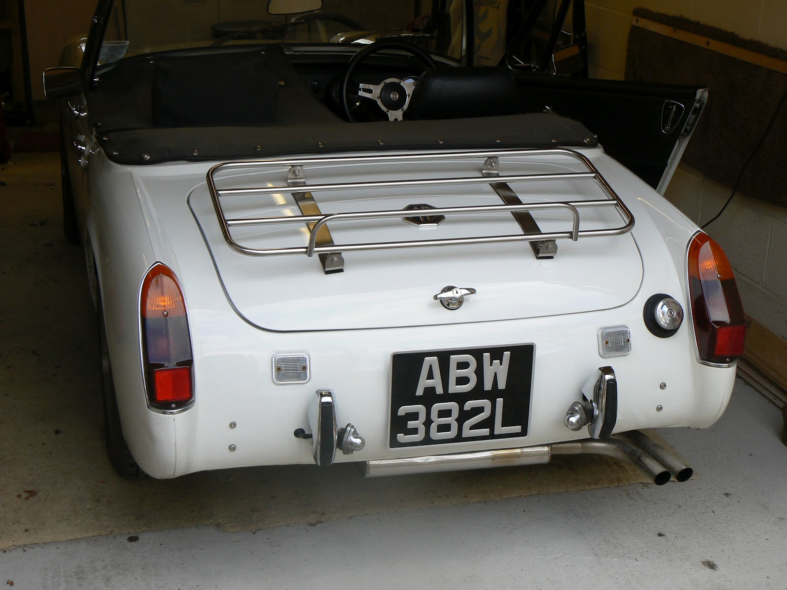 bumper steel conversion midget Mg