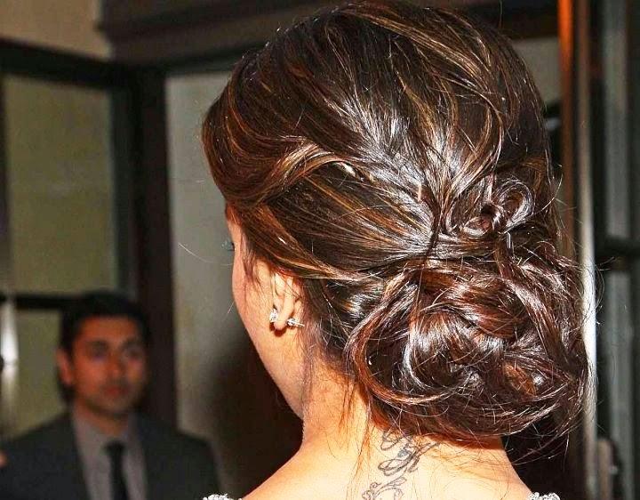 Deepika Padukone's secret hottest RK Tatoo Exposed on her neck