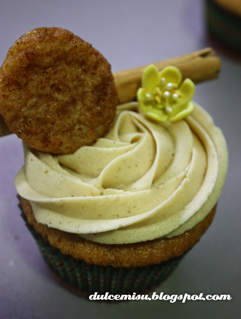 cupcake, torrijas, semana Santa, dulcemisu, canela, reposteria creativa