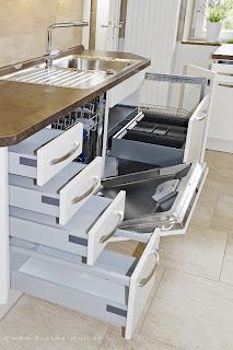 Umweltschutz in der Küche. Das durchdachte Müllsystem macht die Mülltrennung einfacher