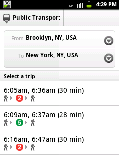Gmaps Android