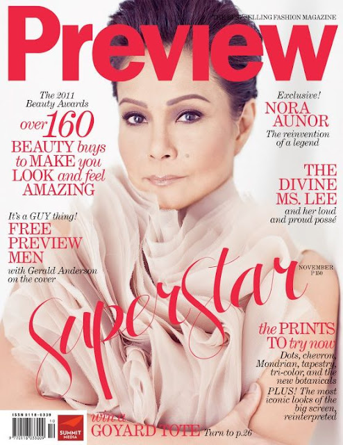 Nora Aunor on Preview Magazine