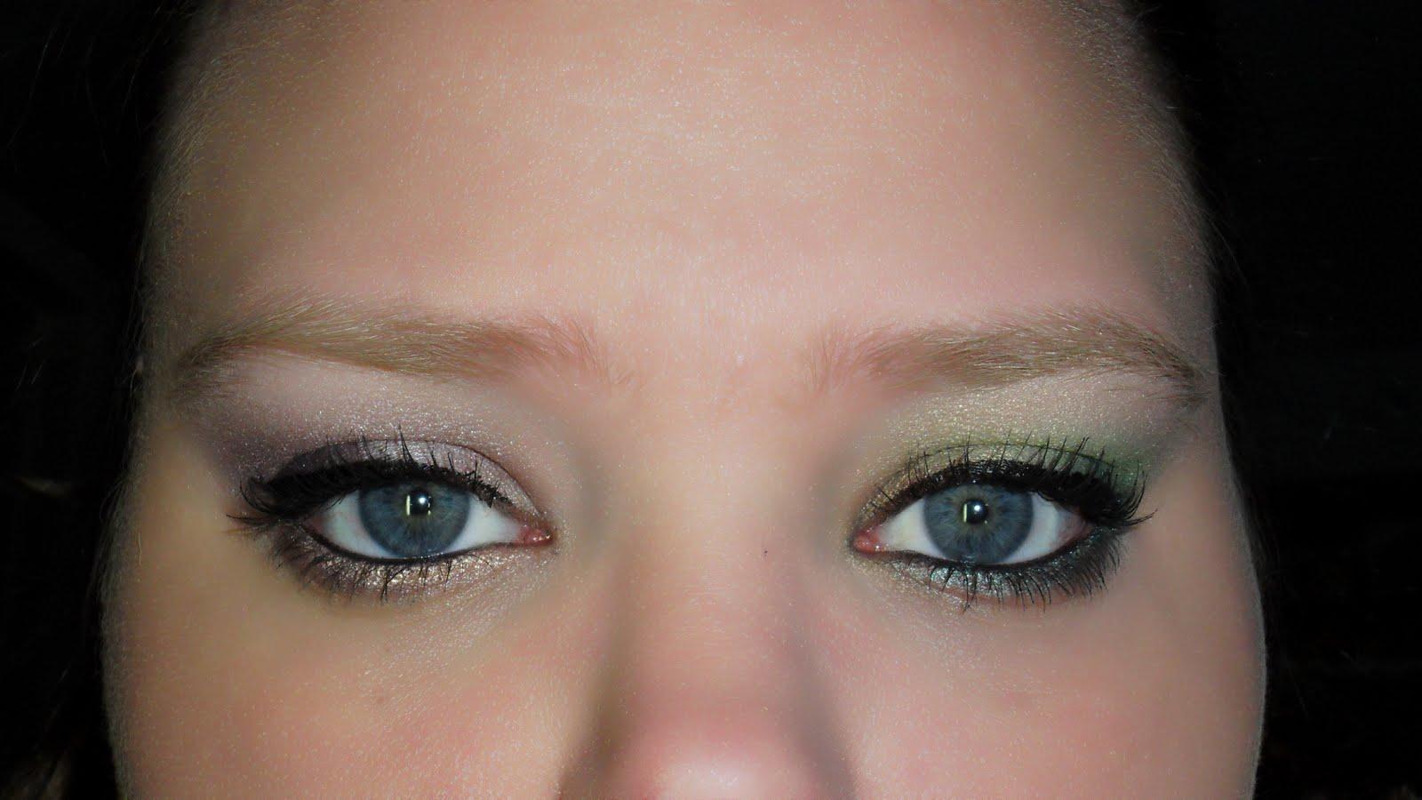 Kat Von D palette makeup #2 sea foamish
