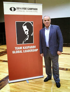 Garry Kasparov © Chessbase