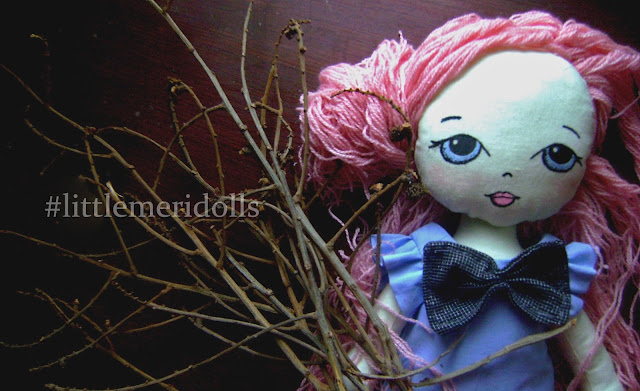 handmade doll gingermelon
