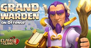 Info Update Clash Of Clans Hero Baru Grand Warden TH 11 cover