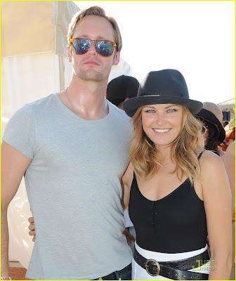 Alexander Skarsgard Enjoy Lacoste Live Party with Kirsten Dunst