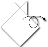 Cara Membuat Origami Wajah Kelinci